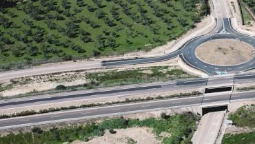 CONSTRUCCION 3 CARRIL EN AUTOVÍA DEL SUROESTE (A-5), P.K. 196,400 AL P.K. 196,500. (EXTREMADURA).