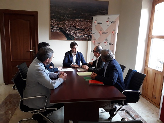 """La Unión Temporal de Empresas formada por Gévora Construcciones y Cyclus ID se adjudican y firman del contrato de la """"Estación depuradora de aguas residuales urbanas (EDAR) de Ibros (Jaén)""""."""