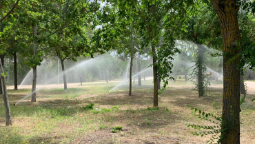 OBRA CIVIL Y MONTAJE EN PLANTA FOTOVOLTAICA HINOJOSA DEL VALLE